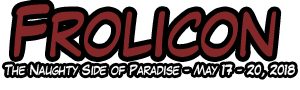 Frolicon - The Naughty Side of Paradise - May 17 - 20, 2018