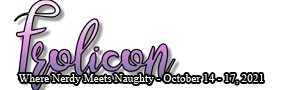 Frolicon - Where Nerdy Meets Naughty - October 14-17, 2021